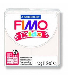 Pâte Fimo kids blanc 0 42g