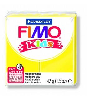 Pâte Fimo kids jaune 1 42g