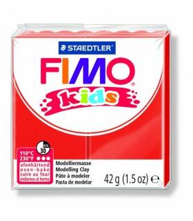 Pâte fimo kids rouge 2 42g