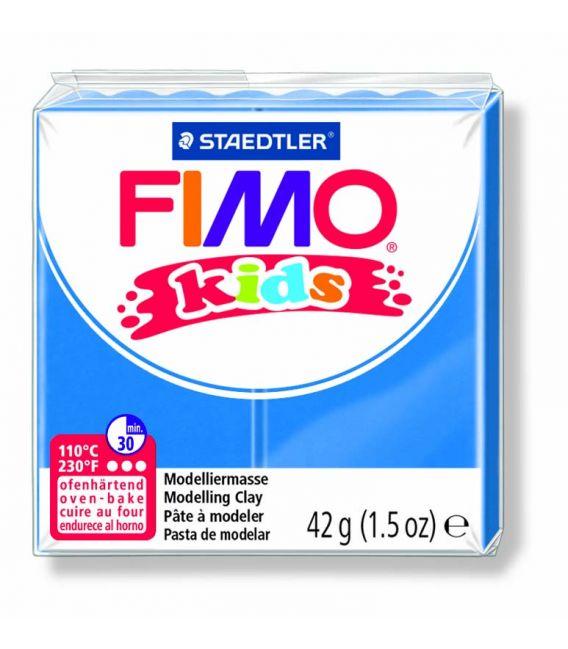 Pâte Fimo kids bleu 3 42g