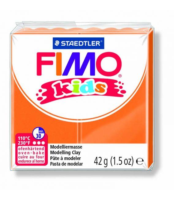 Pâte Fimo kids orange 4 42g