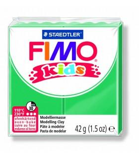 Pâte Fimo kids vert 5 42g