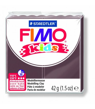 Pâte Fimo kids marron 7 42g