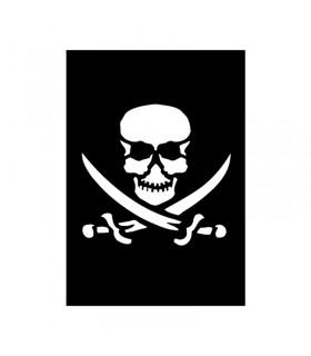 Pochoir Adhésif 7x10cm Pirate