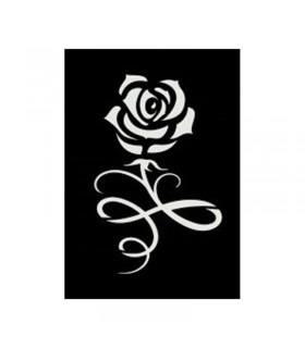 Pochoir Adhésif 7x10cm Rose