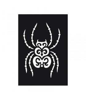 Pochoir Adhésif 7x10cm Araignée