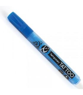 Marqueur tatouages temporaires bleu nacré 6ml